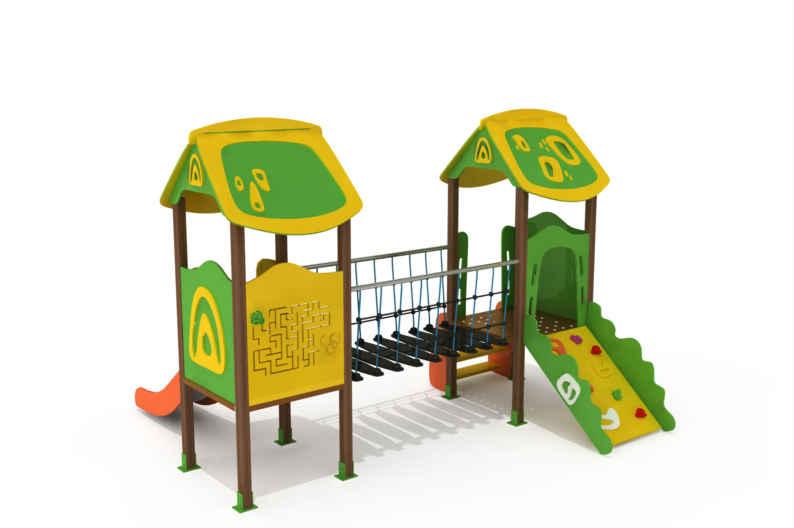 Kompozit Çocuk Parkı