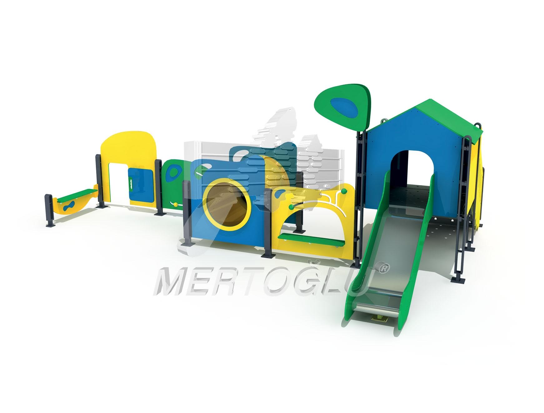 Duki Serisi Çocuk Parkı Mdk-704