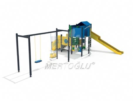 Duki Serisi Çocuk Parkı Mdk-703