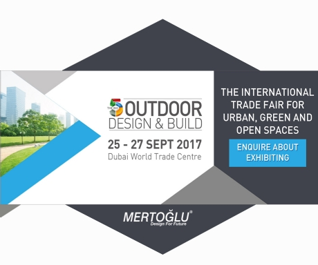Mertoğlu The Big 5 Outdoor Design & Build Show 2017 Dubai Fuarında