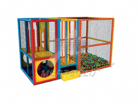 Softplay Aktiviteli Top Havuzu Msp-008