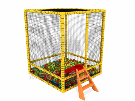 Softplay Kaydıraklı Top Havuzu Msp-002