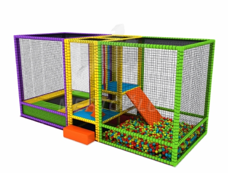 Softplay Trambolin Top Havuzu Msp-006