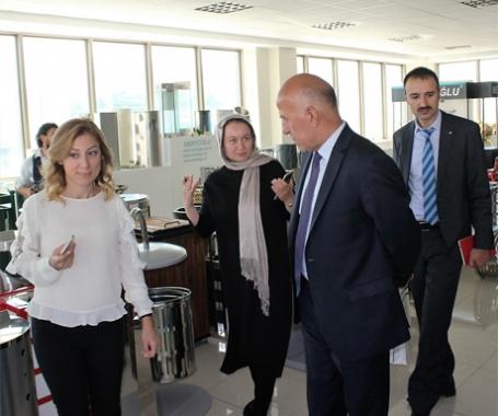 Tacikistan'ın Ankara Büyükelçisi  Fabrikamızda !