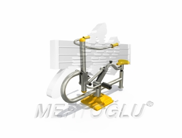 Tekli Fitness Aletleri-Mfs-007/Krom