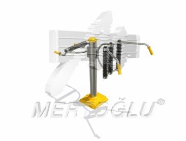 Tekli Fitness Aletleri-Mfs-008/Krom