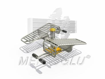 Tekli Fitness Aletleri-Mfs-009/Krom