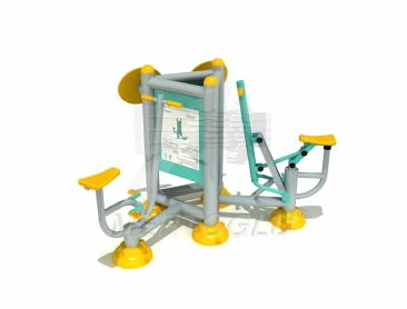 Üçlü Fitness Aletleri-Mfs-031