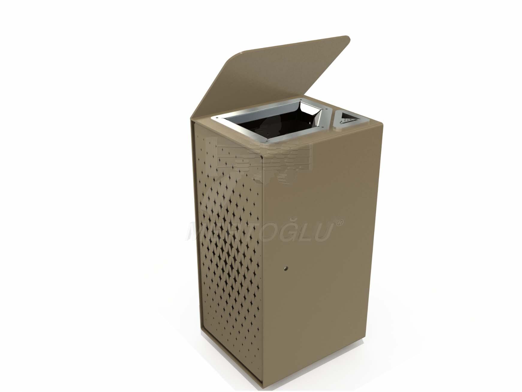 Özel Tasarım Çöp Kovaları Mst-601