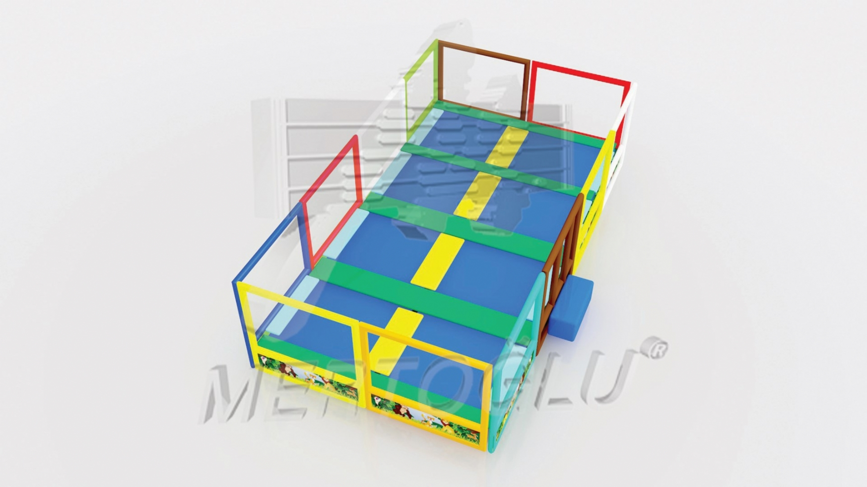 Softplay Trambolin Msp-021