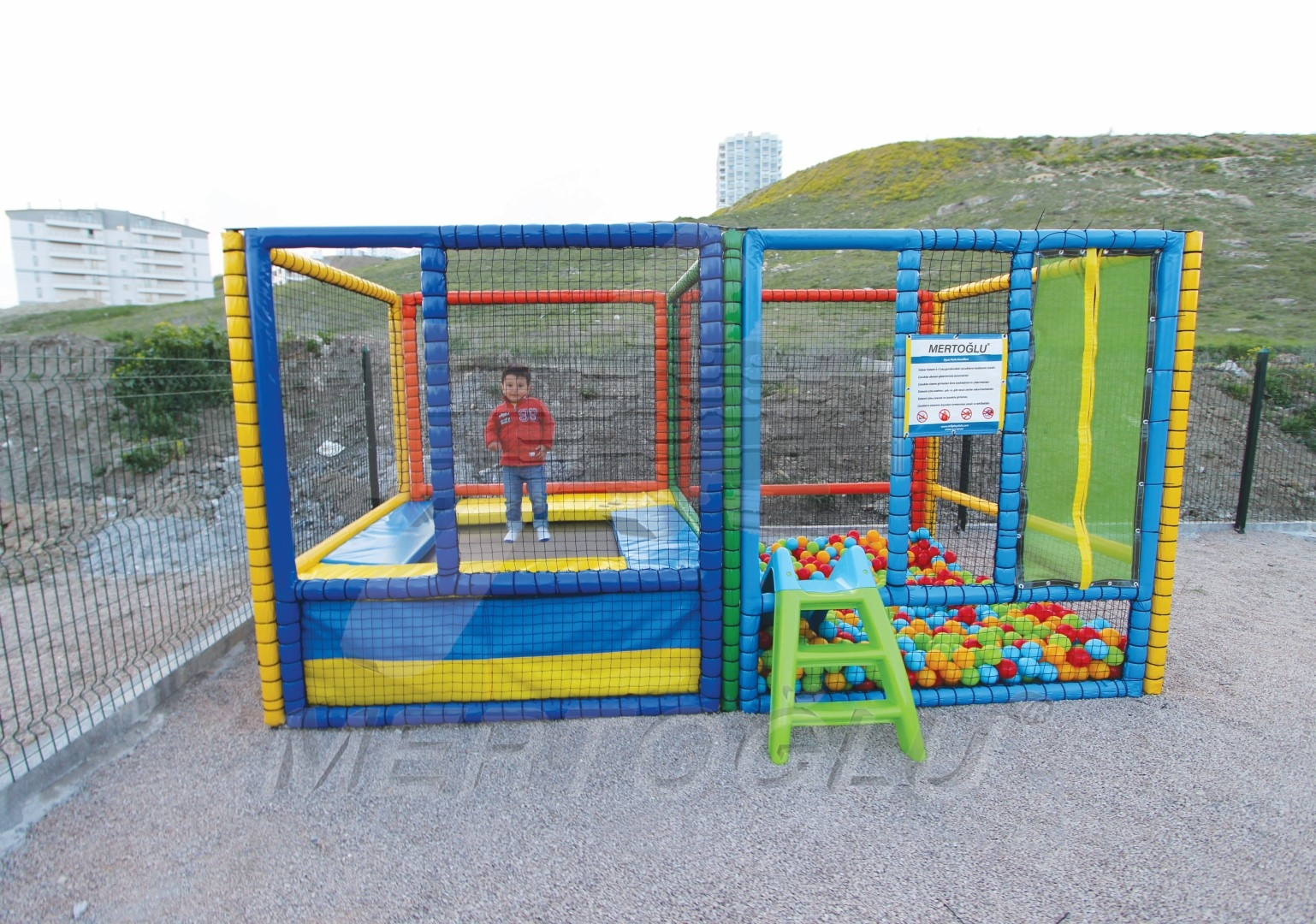 Softplay Trambolin ve Top Havuzu Msp-003