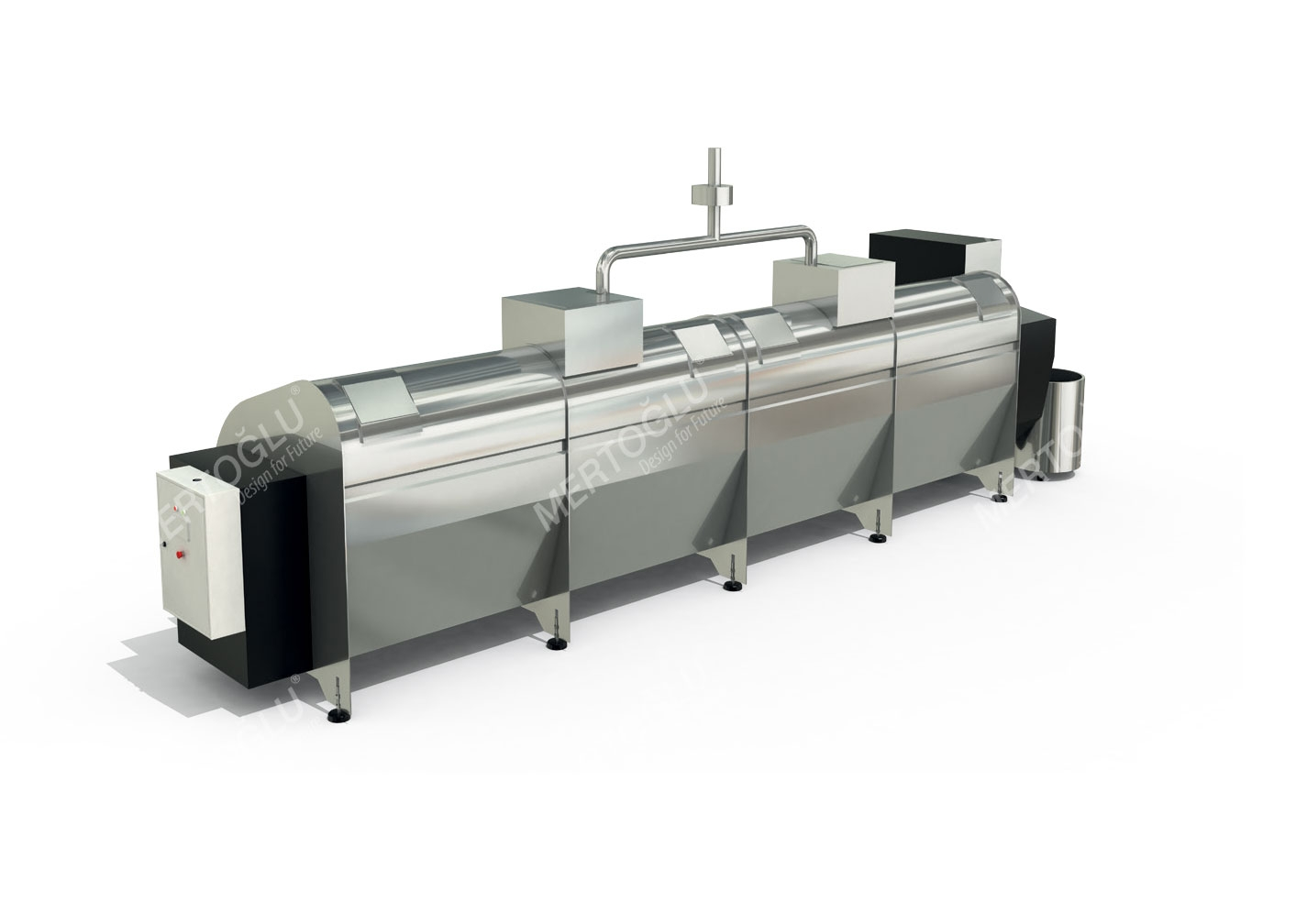 Sıfır Kayıp Projesi Kompost Makinası Msa-103a